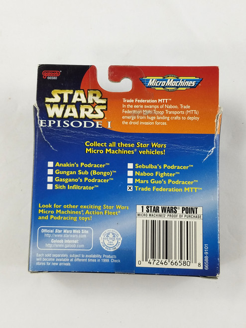 Star Wars Episode 1 Trade Federation MTT Galoob New in Box Micro Machines
