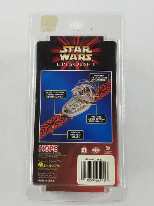 Darth Maul Diecast Watch Star Wars Episode 1 Hope Industries New in Box