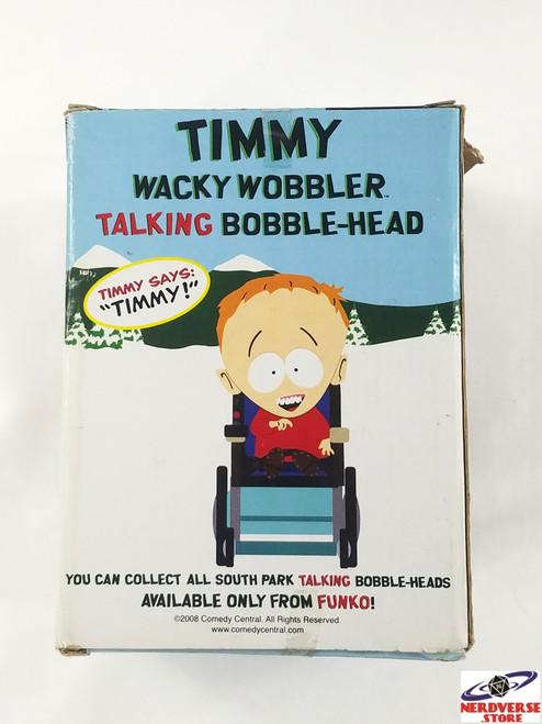 South Park Wacky Wobbler Talking Bobble Head Timmy Funko (Working!)