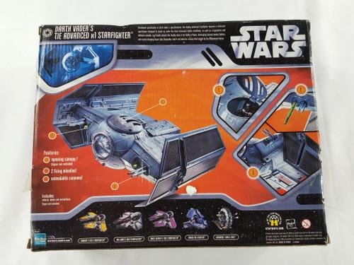 Darth Vaders Tie Advanced x1 Starfighter Star Wars Saga Collection Episode IV Hasbro New in Box