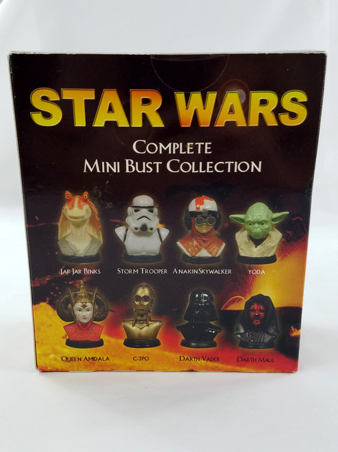 Complete Mini Bust Collection Star Wars Excell Marketing New in Box