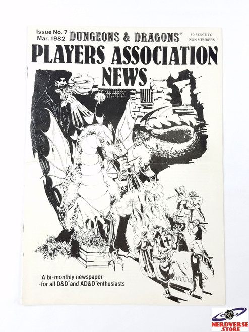 Rare Players Association News Issue #7 March 1982 Newsletter UK