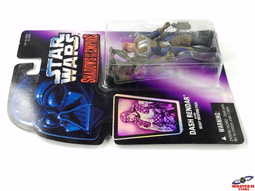 DASH RENDAR WITH HEAVY WEAPONS PACK STAR WARS SHADOWS OF THE EMPIRE