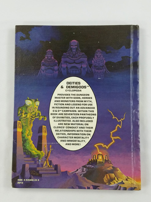 "Deities & Demigods 3rd Print ""Thanks"" Chaosium 128pgs VF! HTF NV4"