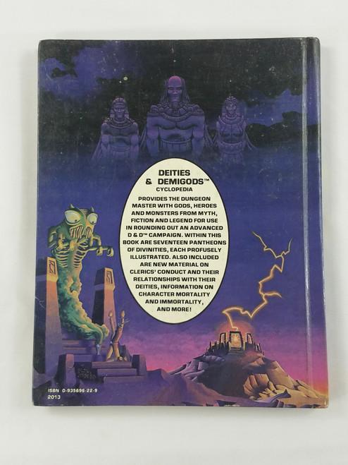 "Deities & Demigods 2nd Print ""Thanks"" Cthulhu Melnibonean 144pgs NM! HTF NV2"
