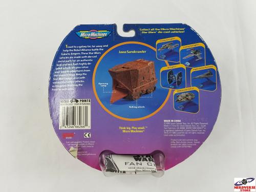 Star Wars Jawa Sandcrawler Galoob New in Box Micro Machines NV2