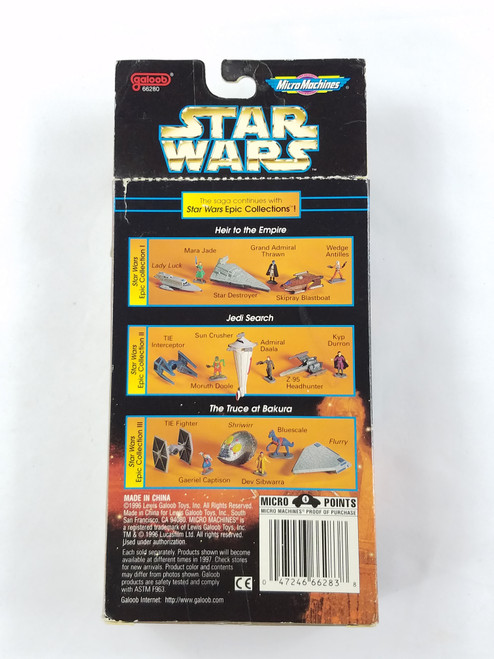 Star Wars The Truce At Bakura Micro Machines Epic Collections #3 Galoob NV2