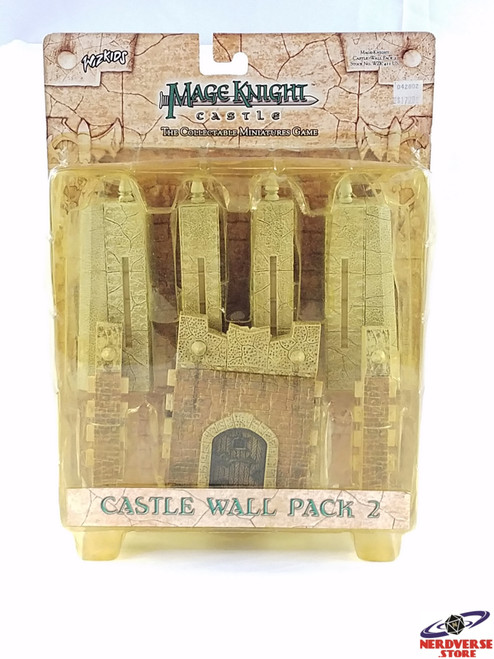 MAGE KNIGHT CASTLE WALLS PACK 2 NEW IN BOX WIZKIDS MISB
