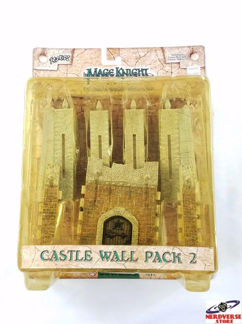 MAGE KNIGHT CASTLE WALLS PACK 2 NEW WIZKIDS MISB
