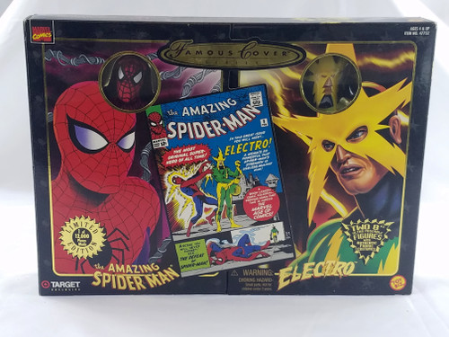 SPIDERMAN ELECTRO FAMOUS COVERS SERIES TARGET EXCLUSIVE MISB