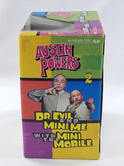 DR EVIL & MINI ME MINI MOBILE AUSTIN POWERS NIB MCFARLANE TOYS SOUND