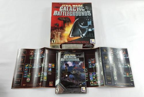 GALACTIC BATTLEGROUNDS LUCAS ARTS GAME BOX ONLY STAR WARS