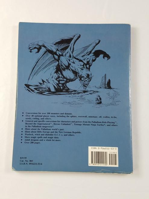 Rifts Conversion Book Kevin Siembieda RPGs Palladium Books