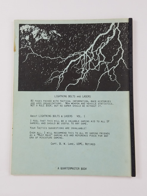 Very Rare Lightning Bolts & Lasers Vol 1 Small Press by Raymond Phillips