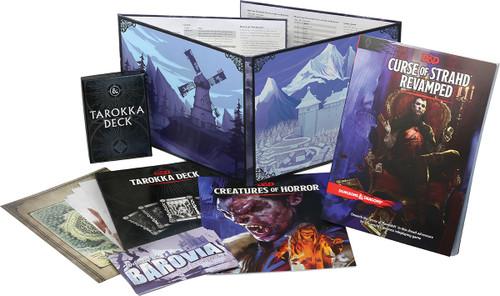 Curse of Strahd Revamped Brand New Massive Coffin Set Amazing!