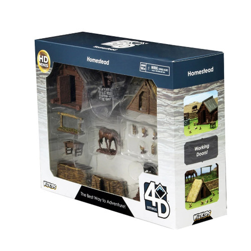 Wizkids 4D Settings Homestead New Sealed WZK74204 D&D Miniatures