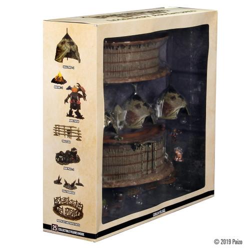 Pathfinder Battles Goblin Village Premium Set Legendary Adventures Huge!