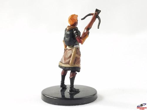 Fire Genasi Fighter #16 Fangs & Talons Wizkids Miniatures Dungeons & Dragons