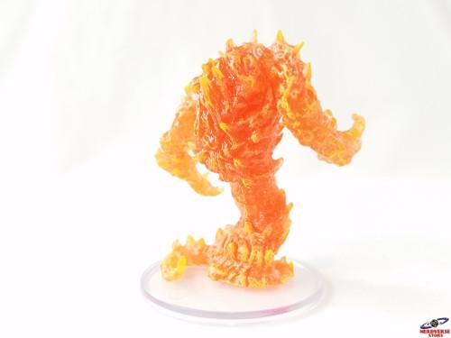 Fire Elemental #28 Fangs & Talons Wizkids Miniatures Dungeons & Dragons