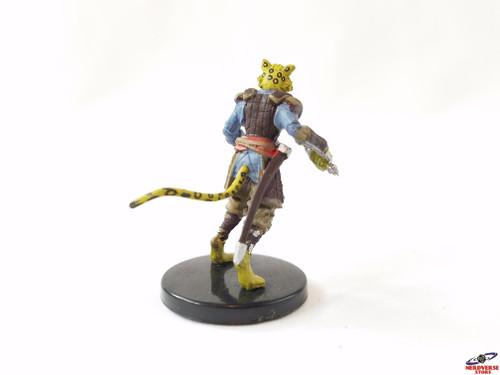 Tabaxi Fighter #34 Fangs & Talons Wizkids Miniatures Dungeons & Dragons