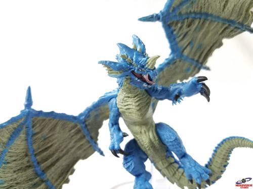 Young Blue Dragon #43 Fangs & Talons Wizkids Miniatures Dungeons & Dragons