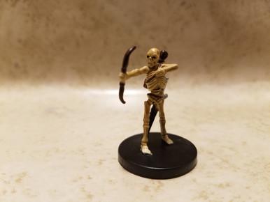 With Card 50 D/&D Mini Angelfire Skeletal Archer Mini