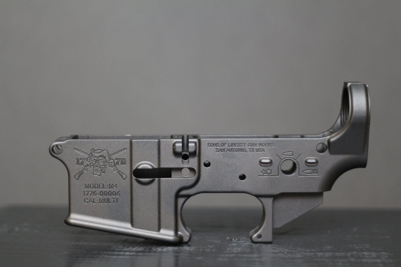 Angry Patriot Stripped Lower Receiver