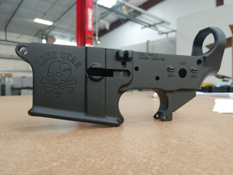 Lone Star Stripped Lower Receiver