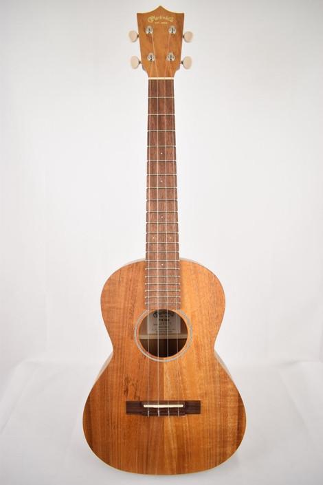 Martin T1K : Hawaiian Koa Tenor Ukulele (24709) - Full Face