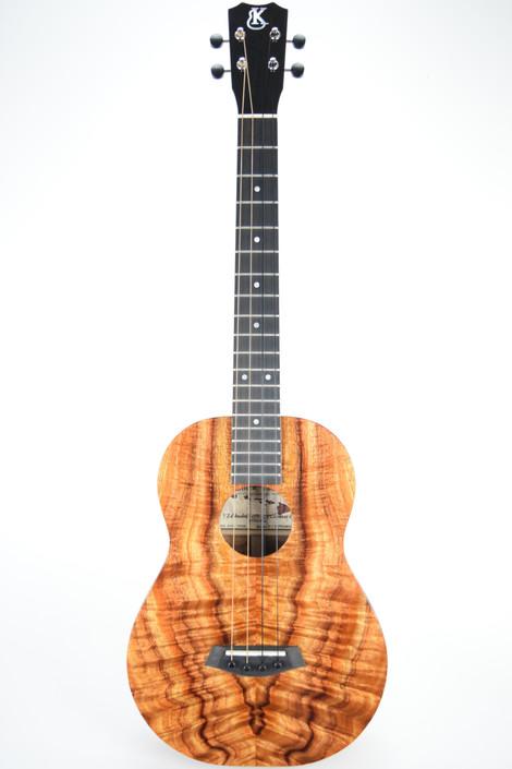 Kanile'a K-1B-PREM : Premium Curly Hawaiian Koa Baritone Ukulele