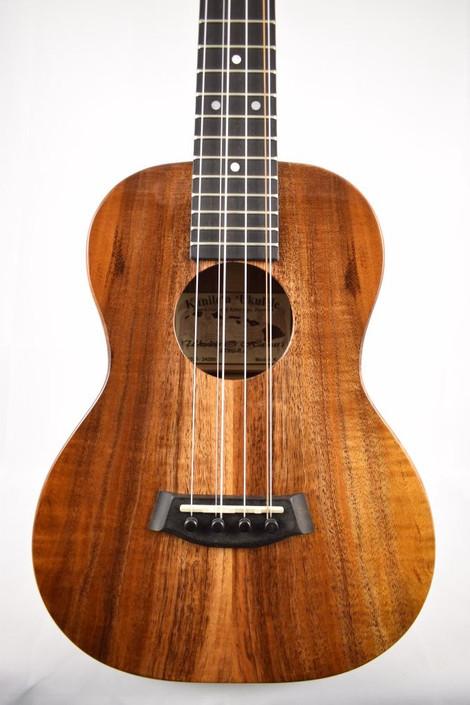 Kanile'a K-1T6 : Hawaiian Koa 6-String Tenor Ukulele (24200) - Face