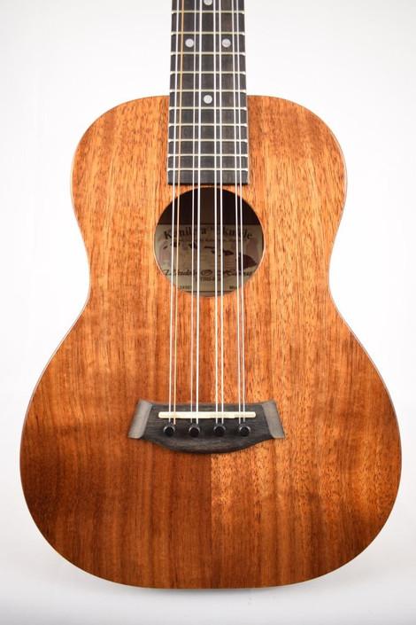 Kanile'a K-1T8 : Hawaiian Koa 8-String Tenor Ukulele  - Face