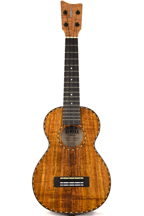 Kamaka HF-2D-E : Hawaiian Koa Deluxe Concert Ukulele with Pickup (Serial # 191635)