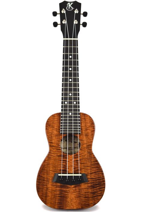 Kanile'a K-1S-PREM : Premium Curly Hawaiian Koa Soprano Ukulele (Serial # 21700)
