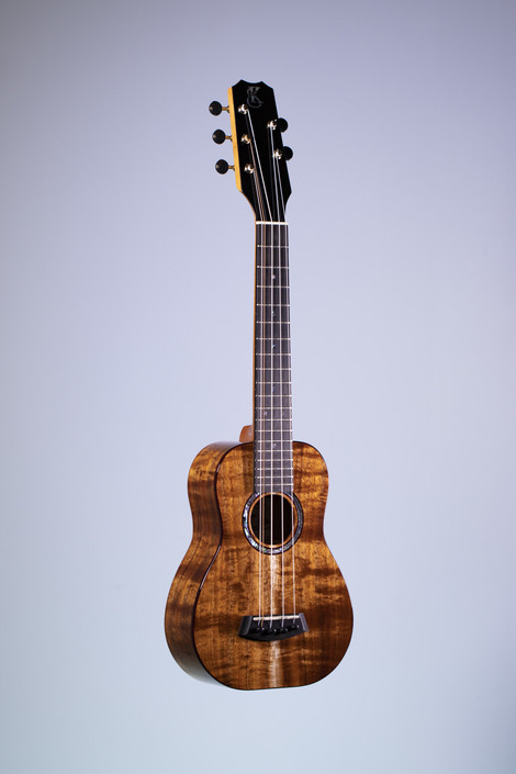 Kanile'a KPA-SC-5-PREM : Premium Curly Hawaiian Koa 5-String Super Concert Ukulele (22769)