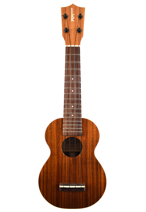 Kamaka HF-1 : Hawaiian Koa Soprano Ukulele in Satin Finish