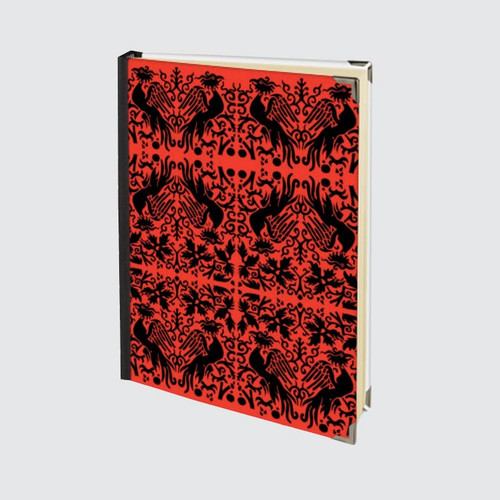 A5 Hardback Journal with blank pages and Red Griffin Design