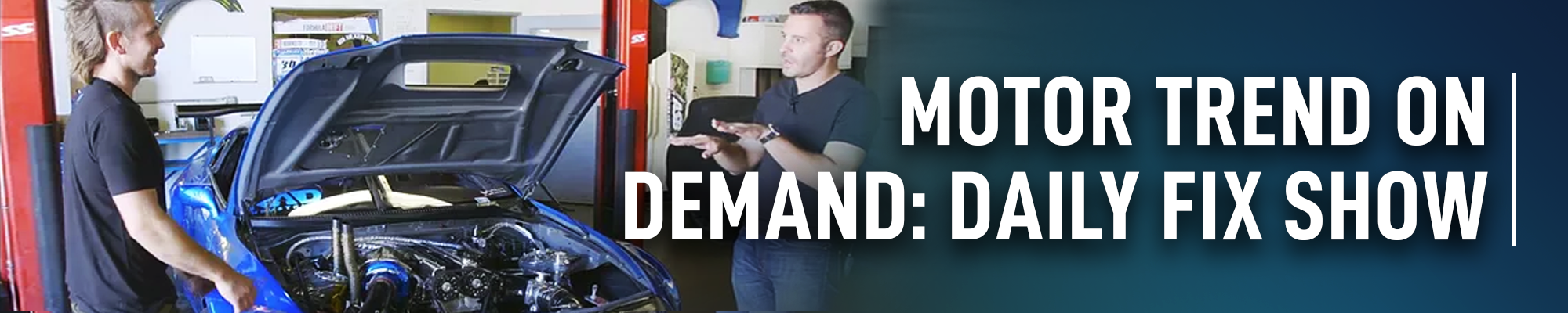 MOTOR TREND On Demand: Daily Fix Show