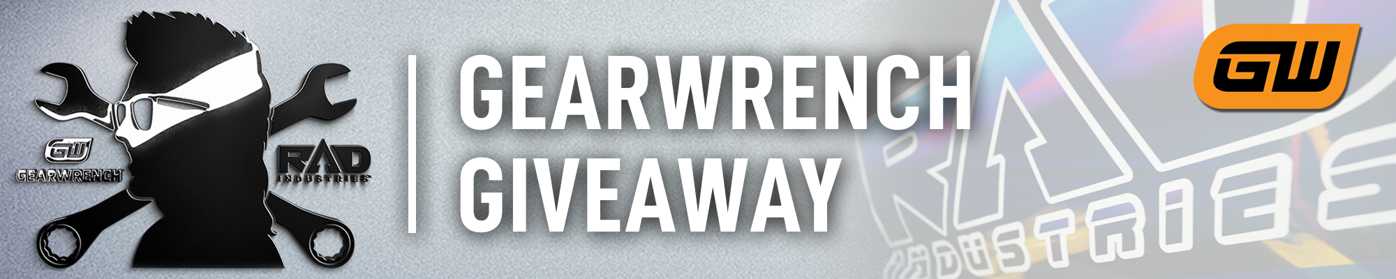 #GEARWRENCHisRAD GIVEAWAY