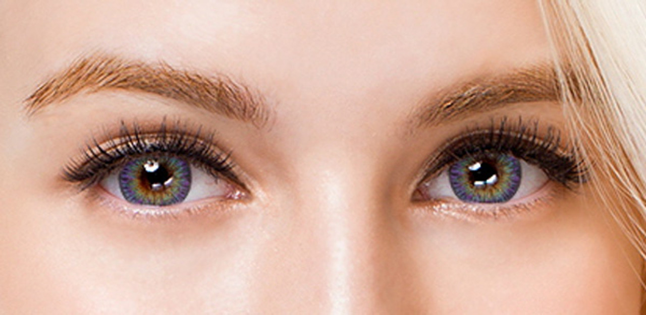 Blue Violet Circle Lenses Color Contacts Colors Of The Wind 34