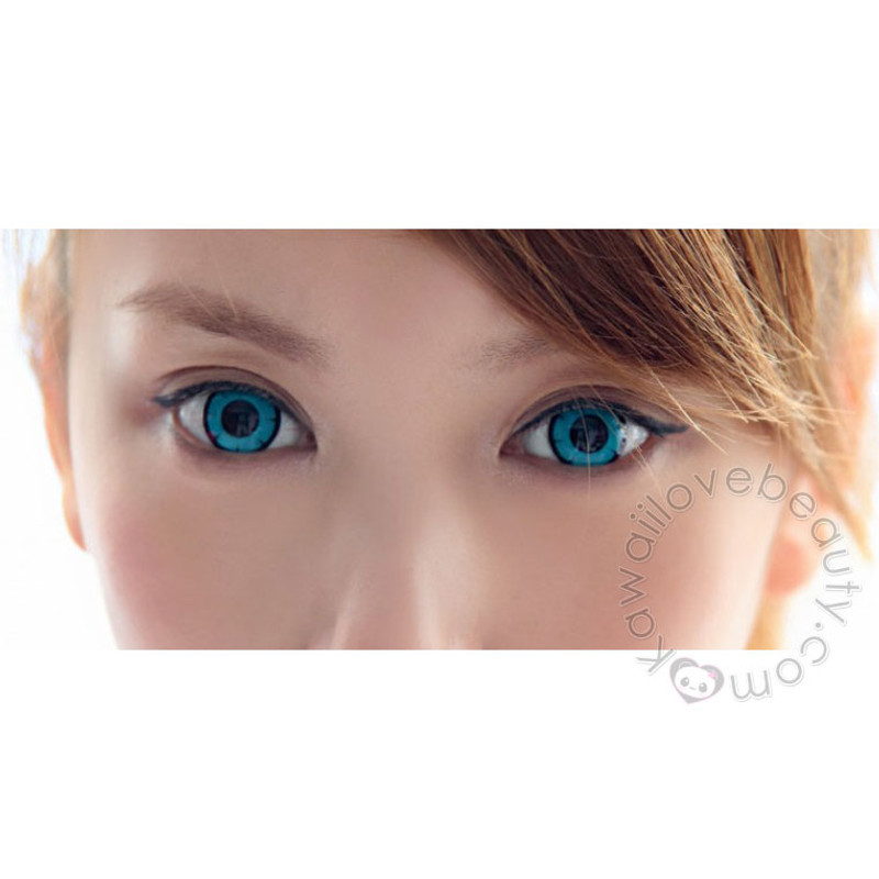 twilight turquoise circle lenses