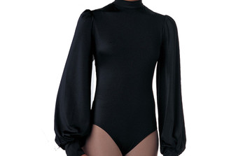 Long Puff Sleeve Leotard (Adult XXL-XXXL)