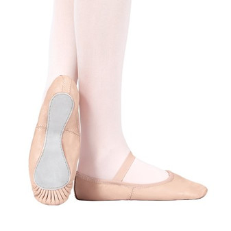 Leather Full Sole Ballet Shoes (Adult)