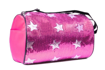 Sequin Star Duffle Bag