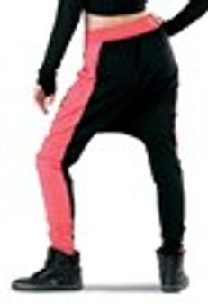 Color Block Pocket Harem Pants