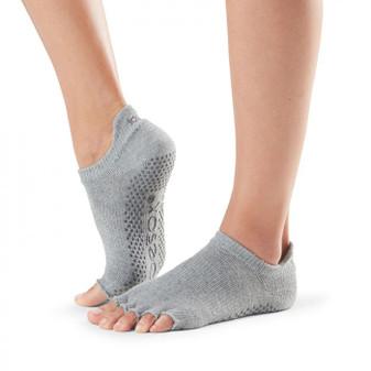 Half Toe Low Rise Grip Sock