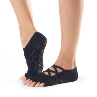 Half Toe Elle Grip Sock