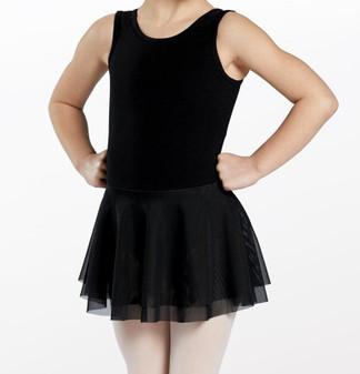 Tank Style Cotton Leotard Dress