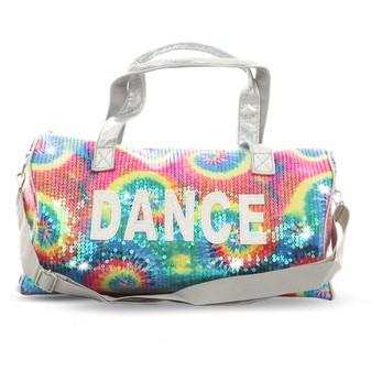 """Sequin """"Dance"""" Duffel Bag"""