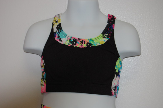 Elite Open X Back Crop Top (Adult)